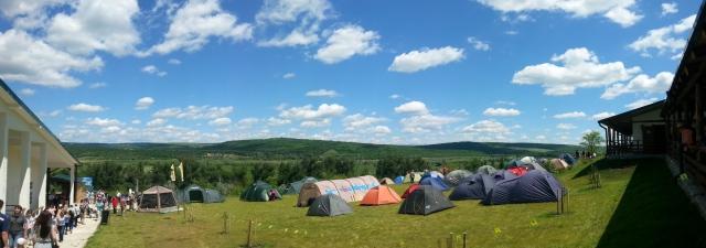Vatra - The camping area